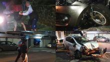 «Li ti sou» - un chauffard ivre tente de s'enfuir après un accident à la rue Labourdonnais - la scène filmée