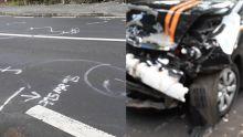 Une terrible collision fait 1 mort et 2 blessés à Laventure : l'épouse du taximan témoigne