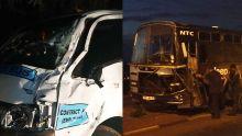Canot : collision entre un bus et un van