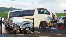 Cascavelle : un blessé après une collision entre une voiture et un van