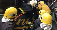 17 blessés dans une collision à Nouvelle-France : le chauffeur d'un des autobus raconte l'accident
