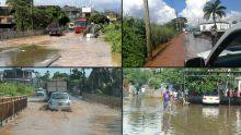 Vidéo fortes pluies : une vingtaine de maisons sous les eaux du côté de cité La Ferme