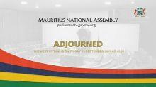 Assemblée nationale – les parlementaires en vacances jusqu'au 13 septembre