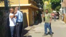 A Calodyne : il menace ses voisins avec un harpon