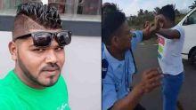 Le motocycliste accusé d'avoir agressé un policier et de lui avoir craché dessus : «Li gagne drwa tap coute pie li ?»