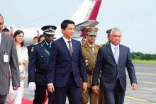 Fête nationale : le Président malgache est arrivé à Maurice