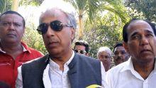 Arvin Boolell critique envers le discours de Pravind Jugnauth prononcé à la State House devant le pape