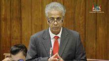 Parlement : il est temps de limiter le mandat d'un PM à deux quinquennats, propose Arvin Boolell