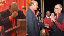 Raj Aubeeluck ému aux larmes lors d'une réception pour célébrer «ses 40 ans de loyauté envers le PTr»