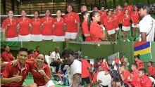 [En images] JIOI 2019 - Badminton : les badistes entrent en action