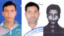 Trois Bangladais portés disparus