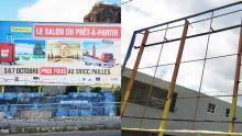 Bell-Village : un « billboard » aux couleurs du Défi Media Group volé