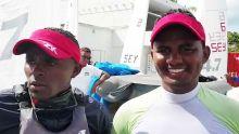 JIOI - Voile : les barreurs mauriciens et mauriciennes en tête du classement provisoire en Laser 4.7