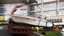 Task Force sur la drogue : l'Icac saisit le bateau de Mike Brasse