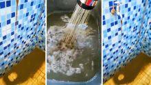 Baie-du-Tombeau : de l'eau boueuse coule des robinets dimanche