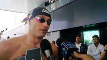 JIOI-Natation : Bradley Vincent remporte la première médaille d'or pour Maurice