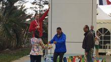 JIOI – Natation : Bradley Vincent remporte la médaille d'argent sur 100 m dos
