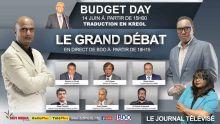 Budget : traduction en kreol, réactions, Grand Débat et JT spécial sur les plateformes du Défi Media Group ce jeudi