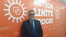 «Mo pa kapav res lor bistop mo bizin rent dan sa metro la», dit Siram Sakaram ancien député MMM qui rejoint le MSM