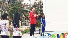 JIOI - Natation : belle deuxième place pour Camille Koenig sur 100 m dos