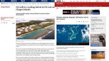 La victoire de Maurice à l'ONU sur les Chagos rapportée dans la presse internationale