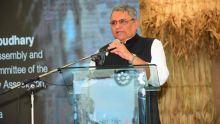 Vijay Kumar Chaudhary, Speaker du Bihar : «Tous les groupes ethniques sont unis à Maurice»