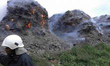 Incendie au centre d'enfouissement de La Chaumière : encore 3 à 4 jours pour venir à bout des flammes