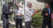 Pétition auprès des parlementaires pour réclamer un référendum sur le Metro Express : Jayen Chellum ne recueille que deux signatures