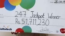 Le gagnant du jackpot de Rs 51,7 millions au Loto : «Ce n'est pas vrai !»