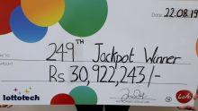 Lotto : une jeune habitante du Sud remporte Rs 30,9 millions «grâce à son horoscope»