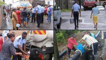 Coupures d'eau à Résidence Atlee : la police prête main-forte aux habitants