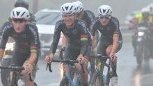[Images] JIOI - Cyclisme : les cyclistes mauriciens sur le point de décrocher l'or