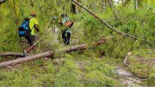 Agalega : quelques images au lendemain du passage de la tempête Alcide