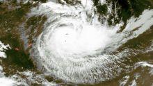 Le cyclone tropical Joaninha à environ 140 kilomètres des côtes de Rodrigues