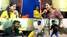 Vijay TV : les meilleurs candidats de chansons indiennes dans les studios de Radio Plus