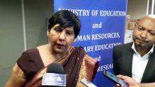 Leela Devi Dookun- Luchoomun : «Les tablettes qui seront prochainement distribuées dans les écoles n'ont rien à voir avec DCL»