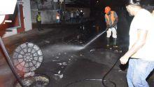 Eaux usées sur la route à St-Paul : la WWMA annonce le remplacement des tuyaux datant de 40 ans