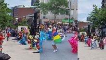 [En images] Jour de la Confédération du Canada : le drapeau mauricien flotte fièrement à Montréal