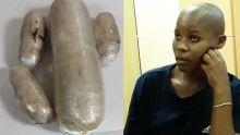 Plaisance : Rs 7.9 M d'héroïne dissimulées dans ses parties intimes, une Sud-africaine arrêtée