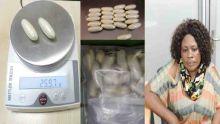 Arrêtée avec Rs 16 M d'héroïne :  l'Angolaise reste en détention