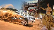 Dubaï : safari dans les dunes du désert