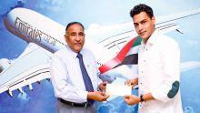 Emirates invites Mauritian artist Gael Froget to portray Dubai