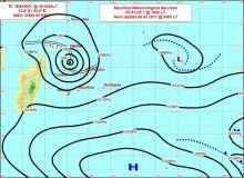 Météo : le cyclone Enawo se dirige vers Madagascar