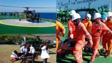 Opération de sauvetage : l'Helicopter Squadron est intervenu à 4 milles nautiques de Balaclava