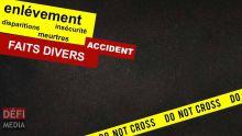 Vallée-Pitôt : accident mortel, le chauffeur d'un van fait un malaise au volant