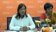 Fazila Jeewa-Daureeawoo : «Notre alliance (MSM-ML) reste soudée»