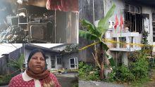Incendie au domicile d'un policier suspendu dans l'affaire Lutchigadoo : «Mo garson ti pe bwar boku...», confie sa mère
