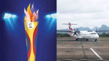 La délégation mauricienne prend l'avion sans la flamme des jeux, «les Rodriguais en colère»