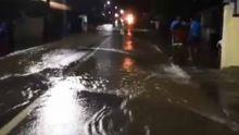 Exercice d'évacuation après une soudaine montée des eaux : regardez ce qui se passe à Fond-du-Sac
