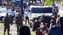 Meurtre de Swaley Futta : une foule hostile s'en prend à des policiers, des projectiles lancés sur un suspect